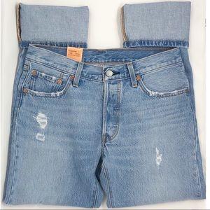 LEVI'S | Vintage Style 501 Straight Leg Jeans